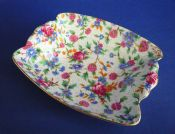 Grimwades Royal Winton 'Old Cottage Chintz' Art Deco Dish c1940